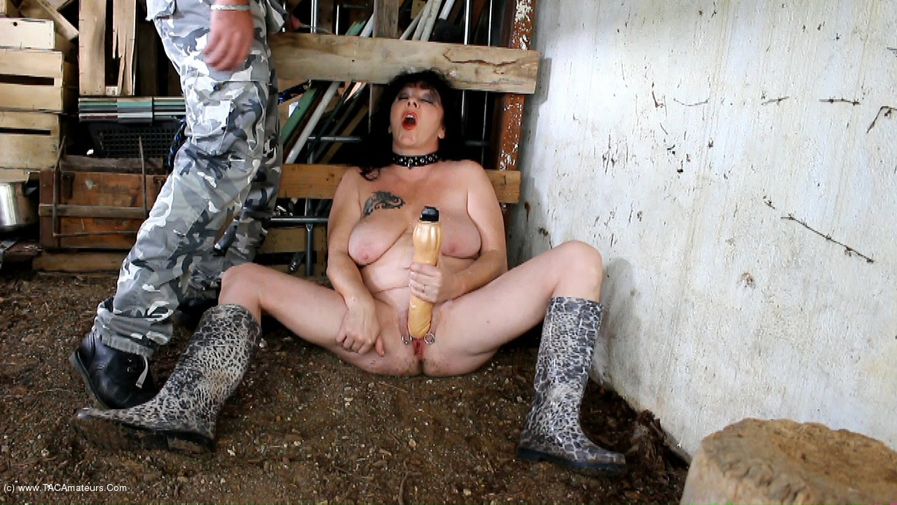 MaryBitch - Masturbation Dildo In The Woods Pt2 scene 0
