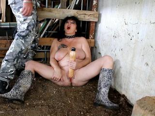 Masturbation Dildo In The