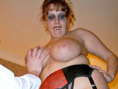 CurvyClaire - Fangs For The Mamories Pt1 Gallery