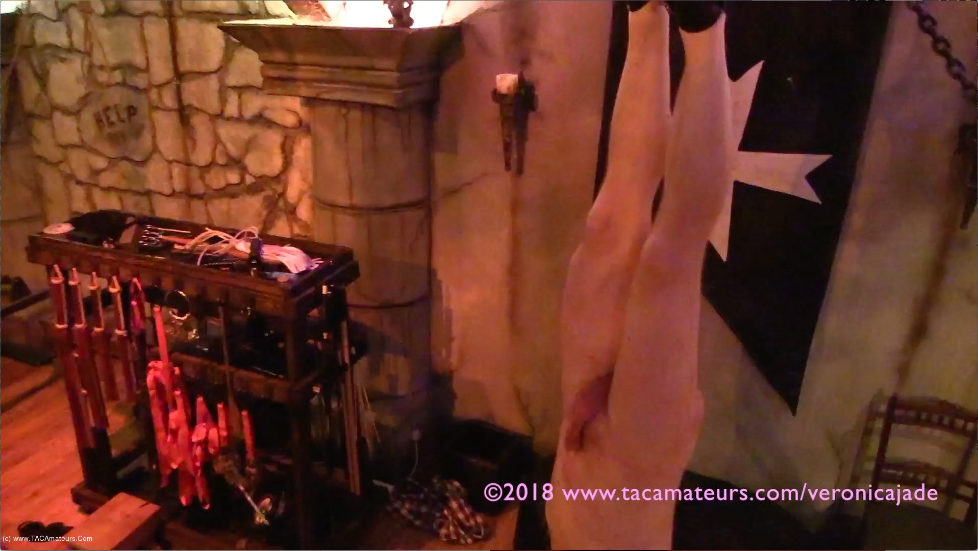 VeronicaJade - Castle Dungeon BDSM Pt6 scene 2