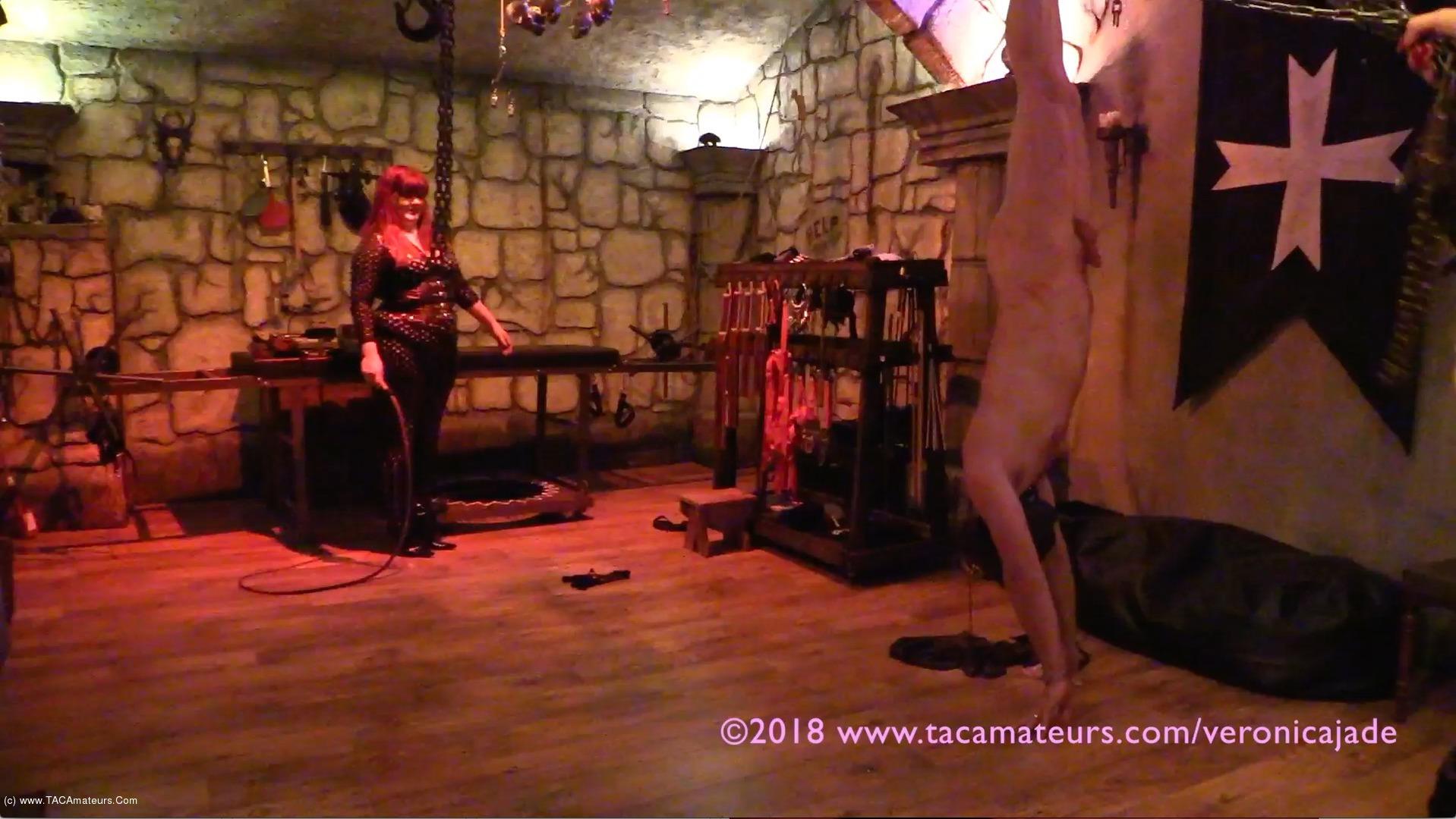 VeronicaJade - Castle Dungeon BDSM Pt6 scene 3