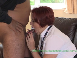 Curvy Claire - Head Girl School Girl Claire Pt1 HD Video