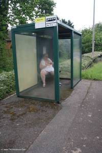 lexiecummings - Lexie & Her Tail In The Bus Shelter Free Pic 4