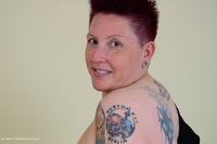 tattoogirl - Black Shirt Pt1 Free Pic 1