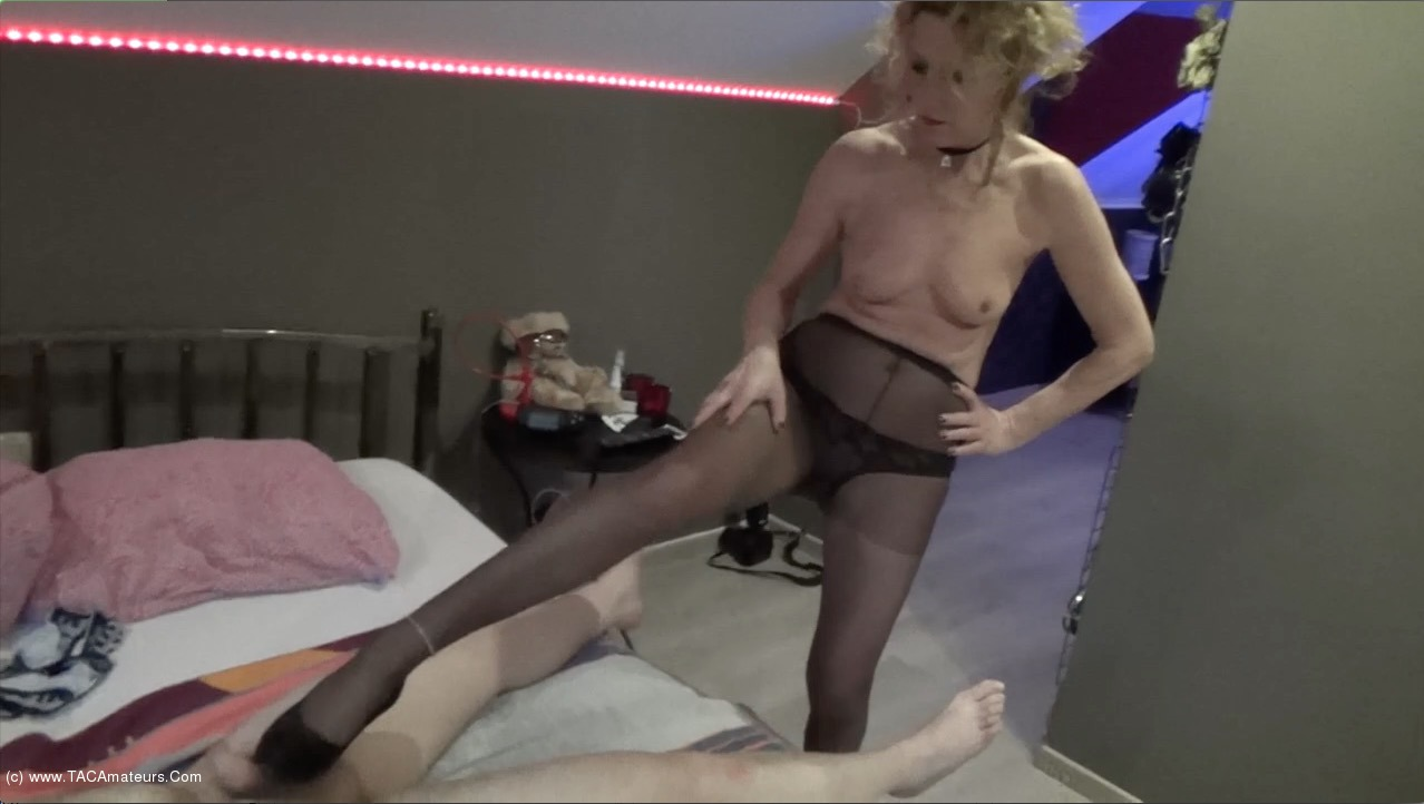 KyrasNylons - Pantyhose Foot Lover With A Site Member Pt2 scene 0