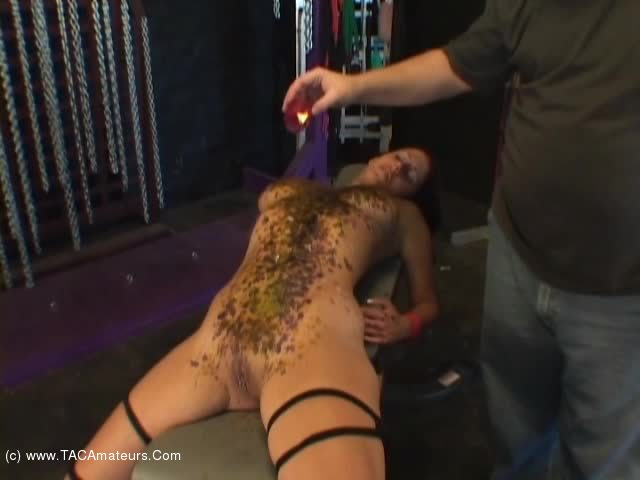 LavenderRayne - Lavender hot wax and cum facial scene 3
