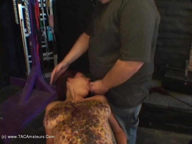 LavenderRayne - Lavender hot wax and cum facial