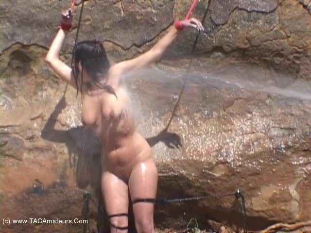 LavenderRayne - Tied up and squirted scene 0