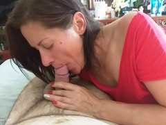 DianaAnanta - Hand & Blow Job HD Video