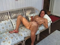 DianaAnanta - Outdoor Oiling HD Video