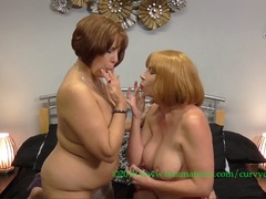 CurvyClaire - Claire's Lesbo Massage With Barby Slut Pt3 HD Video