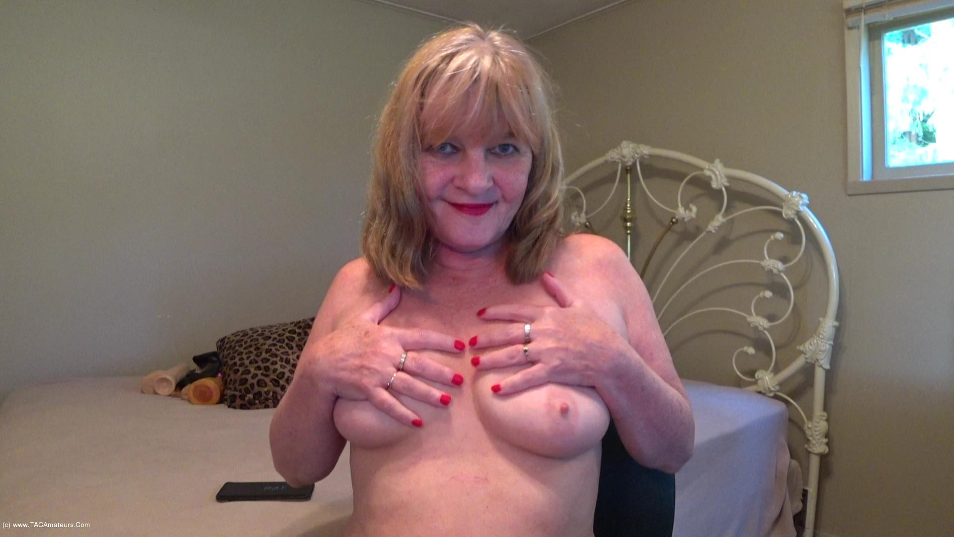 CougarBabeJolee - Titty Play & Smoking scene 1