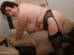 KinkyCarol - Black Stockings & Red Shoes Pt2 Gallery