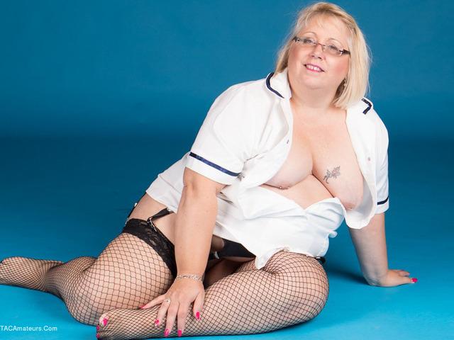 LexieCummings - Sexy Nurse Lexie Strips