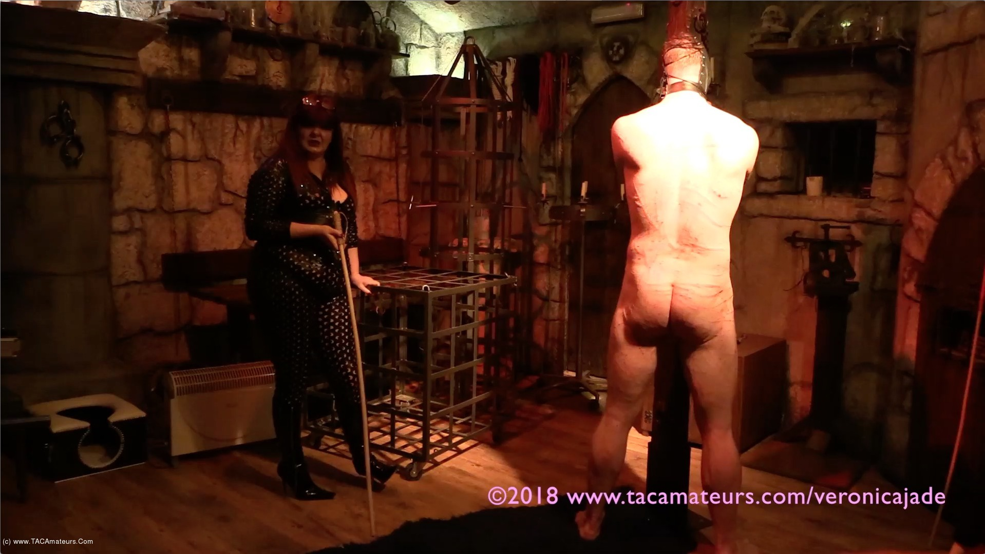 VeronicaJade - Castle Dungeon BDSM Pt10 scene 1
