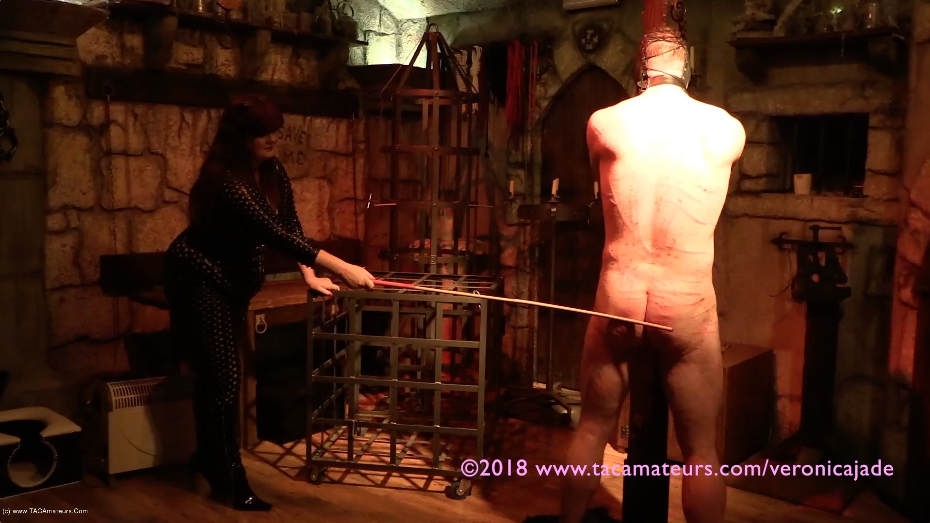 VeronicaJade - Castle Dungeon BDSM Pt10 scene 2