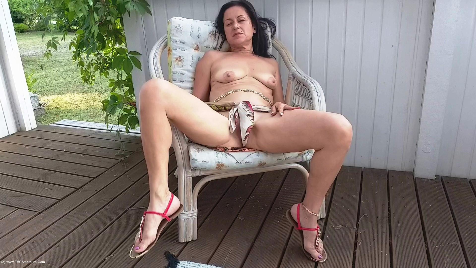 DianaAnanta - Outdoor Masturbation scene 0