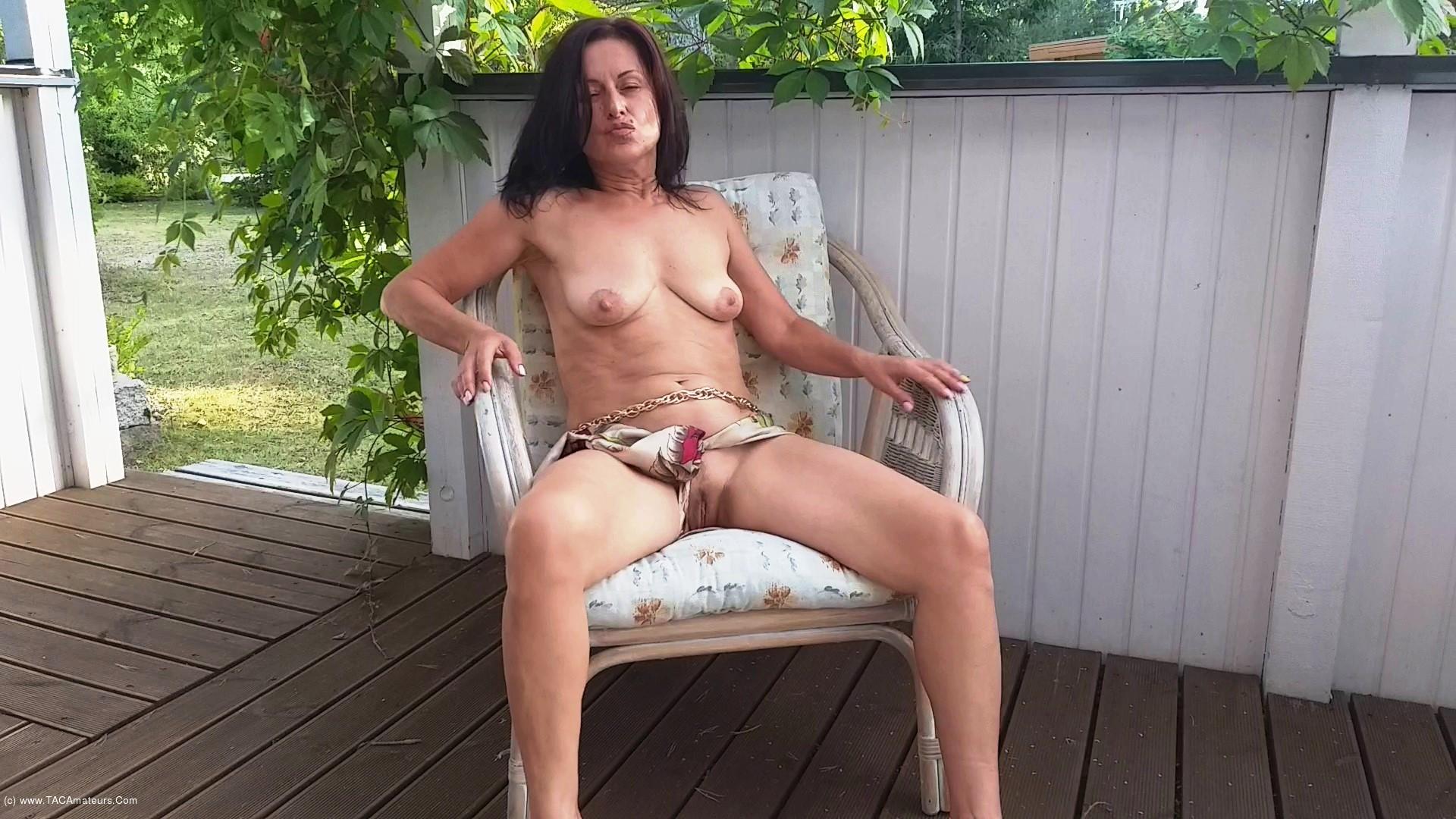 DianaAnanta - Outdoor Masturbation scene 1