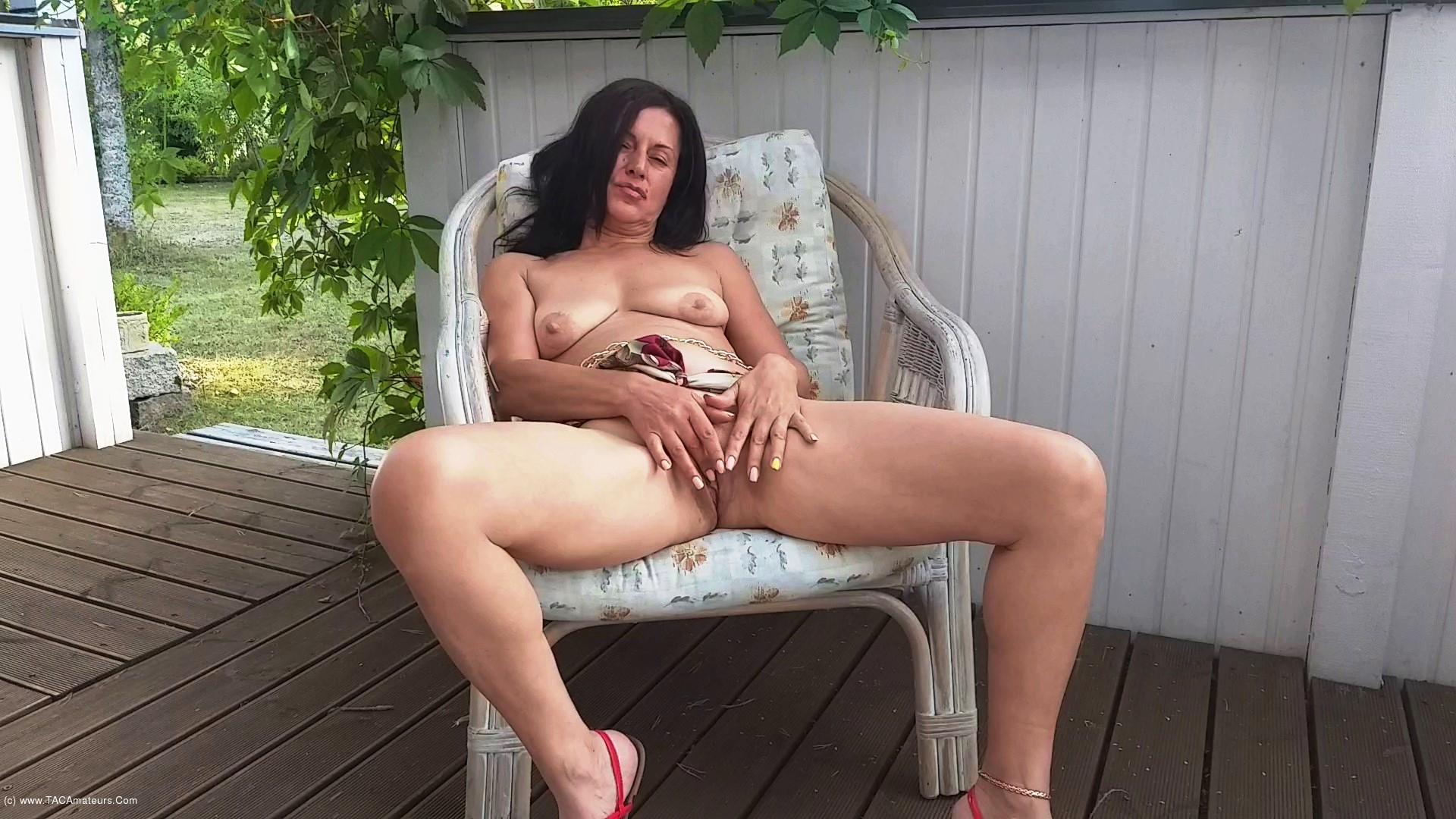 DianaAnanta - Outdoor Masturbation scene 2