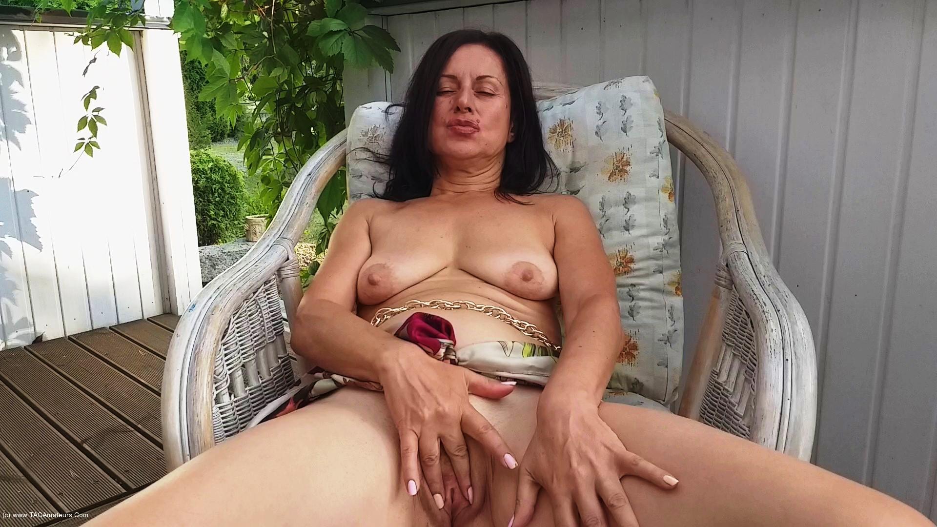DianaAnanta - Outdoor Masturbation scene 3