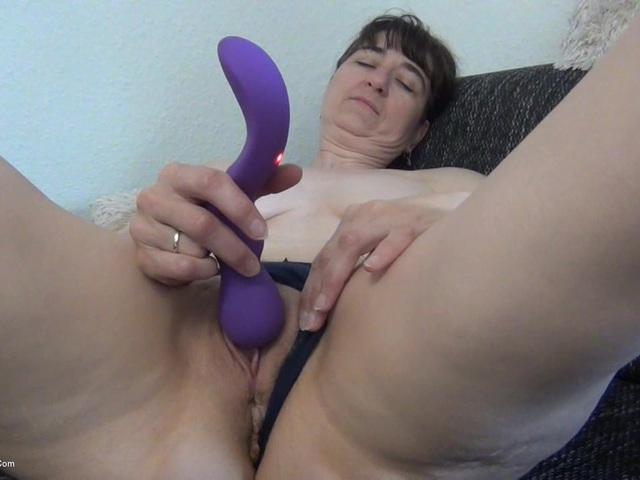 HotMilf - Panties Masturbating On The Sofa