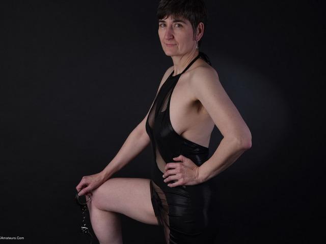 HotMilf - Wetlook Dress  Handcuffs