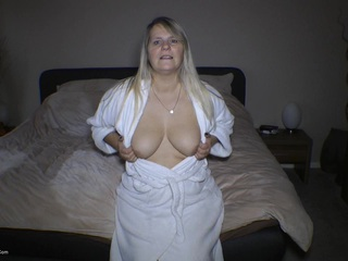 Naked Under My Bathrobe