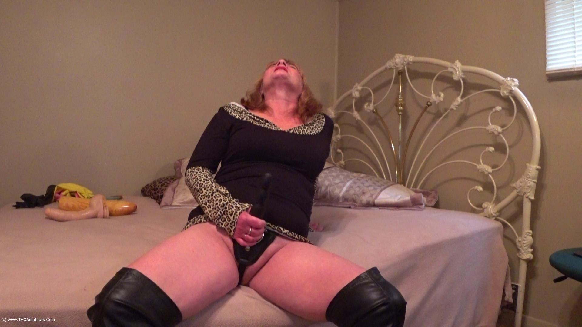 CougarBabeJolee - Sissy Boy Wants His Man Cunt Fucked scene 3