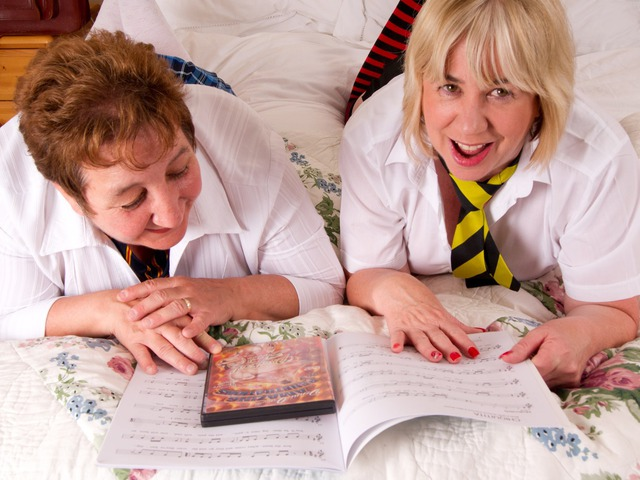 Two Very Naughty Schoolgirls