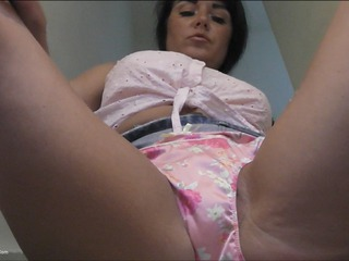Raunchy Raven - Upskirt On The Stairs HD Video