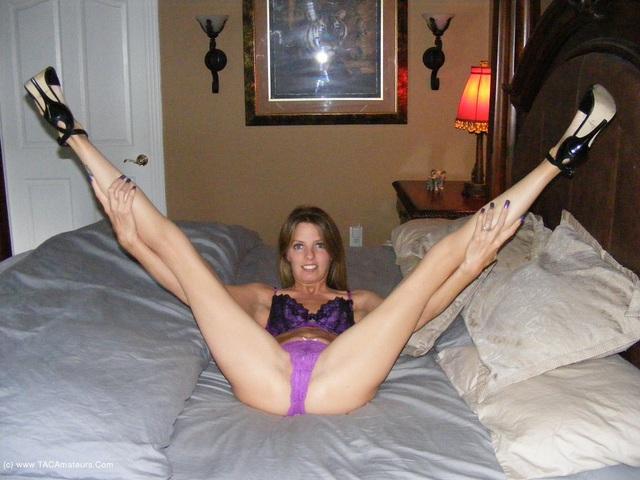 KissAlissa - Purple Panties
