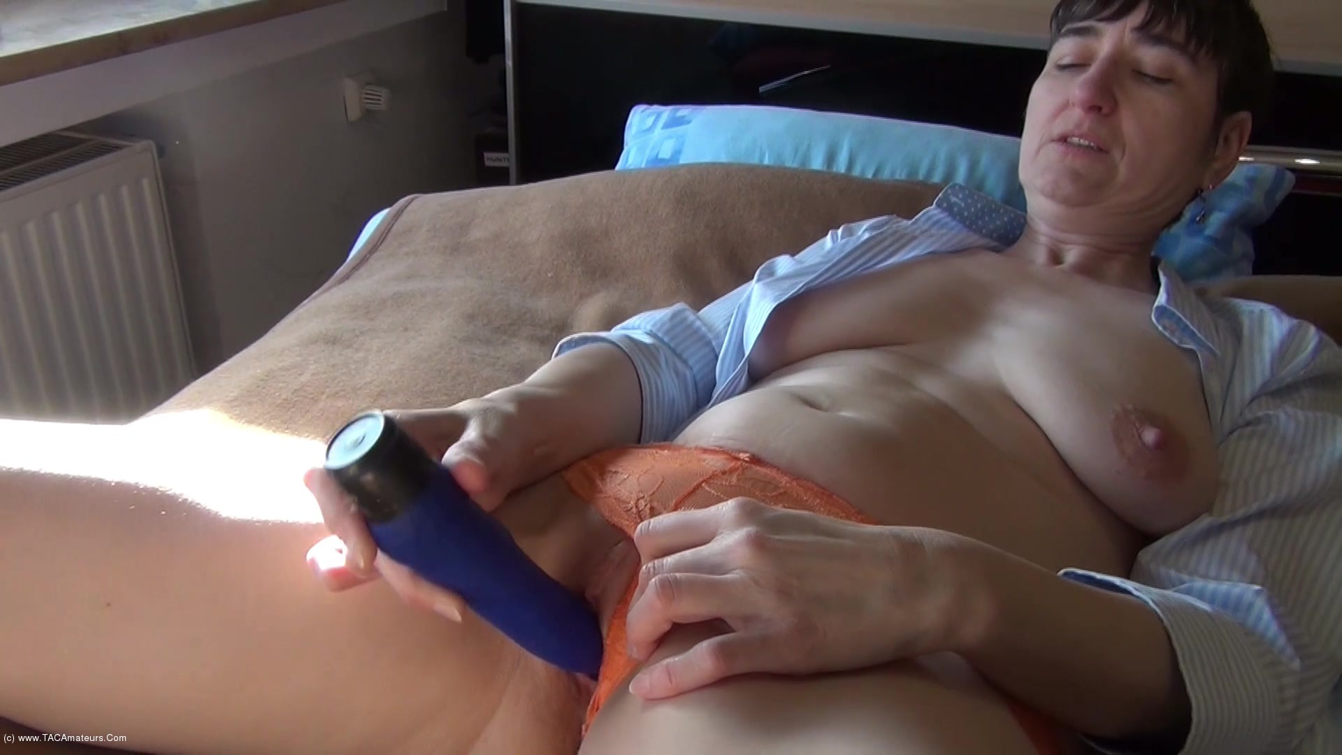 HotMilf - New Vibrator & Panties scene 2