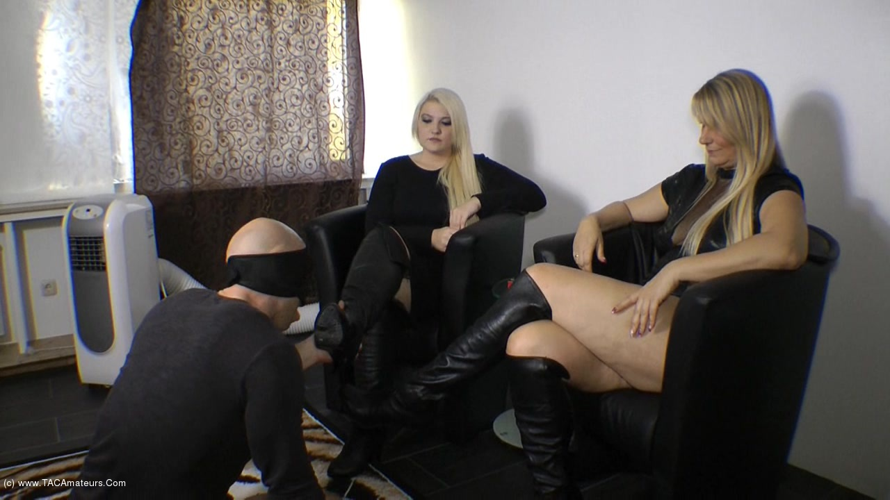 SweetSusi - Use Our Boots & Wank Them Full scene 0