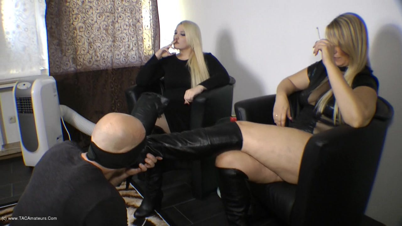 SweetSusi - Use Our Boots & Wank Them Full scene 1