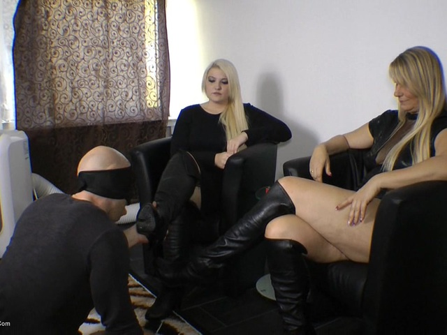 SweetSusi - Use Our Boots  Wank Them Full