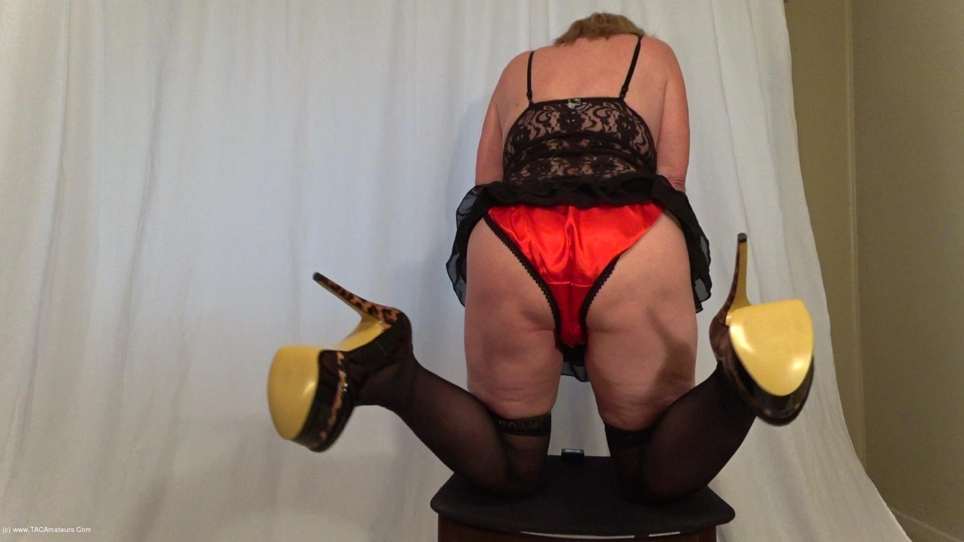 CougarBabeJolee - Cum Get My Arse & Take My Satin Panties Down scene 0