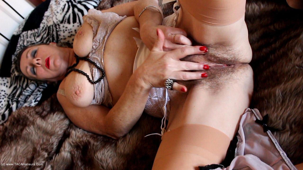 MaryBitch - Masturbation In Vintage Lingerie Pt2 scene 1