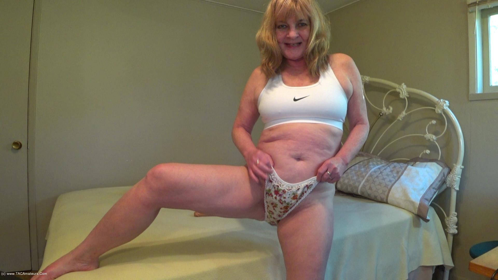 CougarBabeJolee - Pretty Satin Panties Worship scene 0
