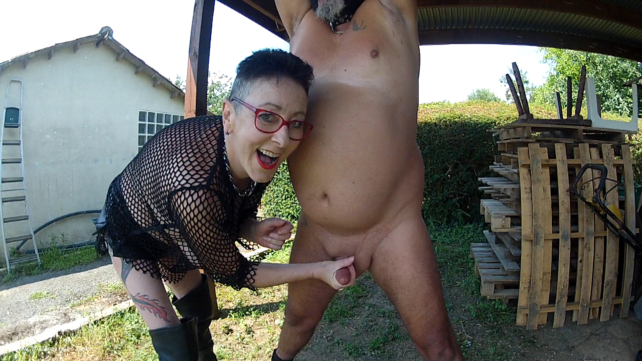 MaryBitch - Ball Busting Masturbation Pt2 scene 0