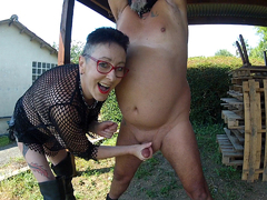 MaryBitch - Ball Busting Masturbation Pt2 HD Video