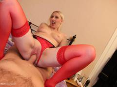 TraceyLain - Dodgy Suspender Belt Pt2 HD Video