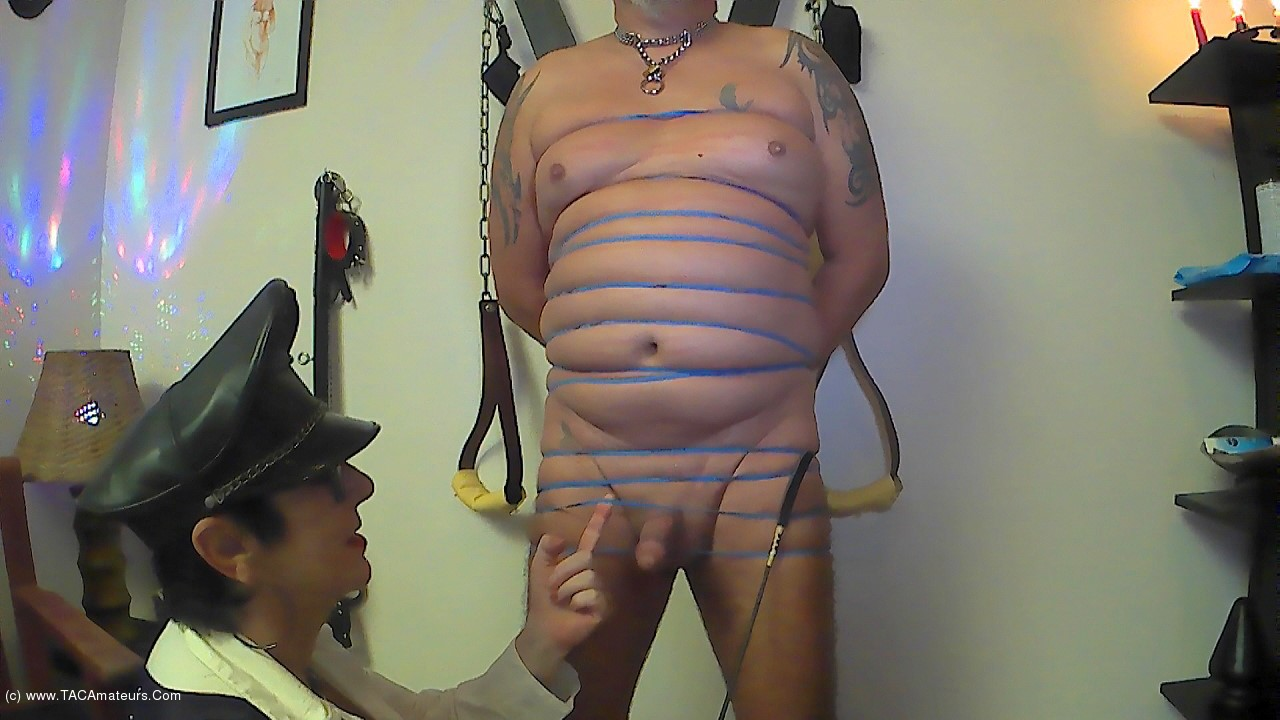 MaryBitch - BDSM Session With Rubber Bands Pt1 scene 2