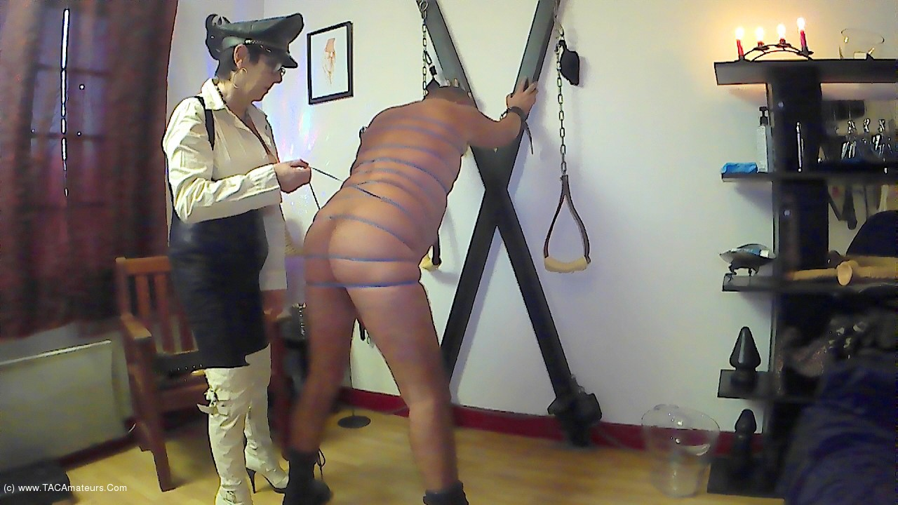 MaryBitch - BDSM Session With Rubber Bands Pt2 scene 0