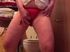 CougarBabeJolee - Pissing Panties For Your Mouth HD Video