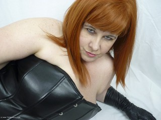 Mrs Leather - Leather trousers strip off Picture Gallery
