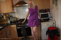 traceylain - Work Dress Purple Worker Free Pic 1