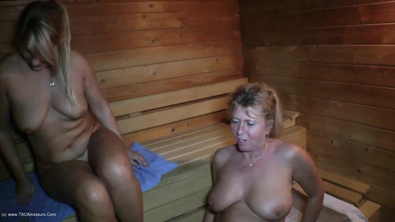 SweetSusi - Even Women Are Horny In The Sauna scene 3