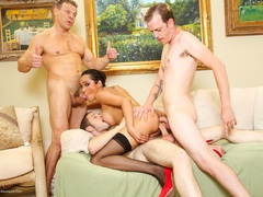 JessicaTheFox - Transexual Gang Bangers Pt8 HD Video