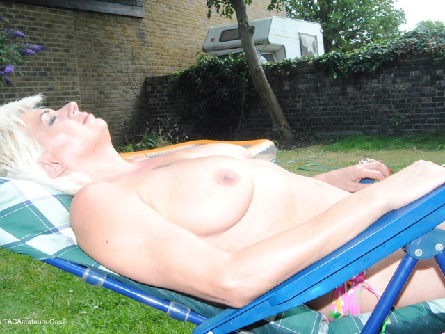 Dimonty - Naked  Topless In The Garden