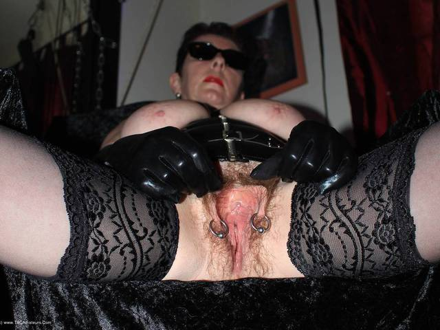 MaryBitch - Busty Mistress With Hairy Pussy